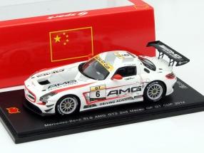 Mercedes-Benz SLS AMG GT3 #6 2nd Macau GT Cup 2014 van der Zande 1:43 Spark