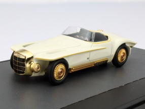 Mercer Cobra Year 1965 white 1:43 Matrix