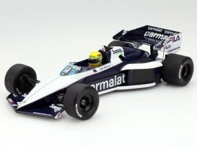 A. Senna Brabham BMW BT52B Test Car Paul Ricard 1983 1:18 Minichamps