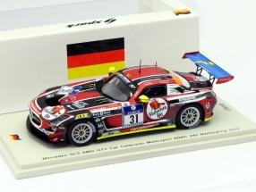 Mercedes-Benz SLS AMG GT3 #31 24h Nürburgring 2014 1:43 Spark