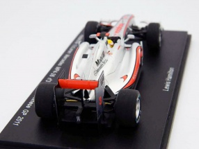 L. Hamilton McLaren Mercedes MP 4-26 formula 1 chinese GP 2011 1:43 Spark