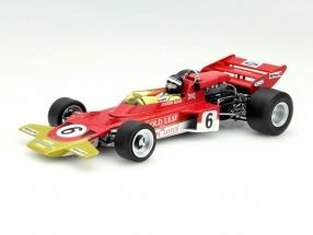 J. Rindt Lotus Typ 72C #6 Austria GP Formula 1 1970 1:18 Quartzo