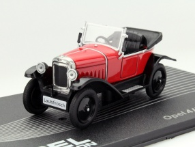 Opel 4/12 PS Laubfrosch Year 1924-26 red 1:43 Altaya