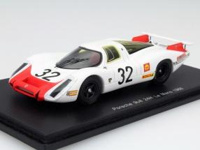 Porsche 908 #32 24h LeMans 1968 Porsche System Engineering 1:43 Spark