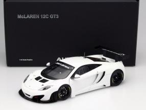 McLaren MP4-12C GT3 Baujahr 2011 weiß 1:18 AUTOart
