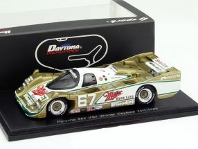 Porsche 962 #67 Winner 24h Daytona 1989 Miller High Life 1:43 Spark