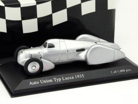 Auto Union Typ B Lucca Baujahr 1935 silber 1:43 Minichamps