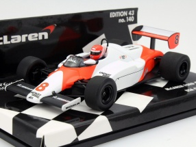 Niki Lauda McLaren MP4/1C #8 USA West GP Formel 1 1983 1:43 Minichamps