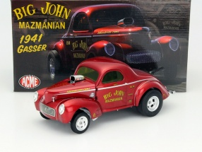 Big John Mazmanian Gasser Baujahr 1941 rot 1:18 GMP