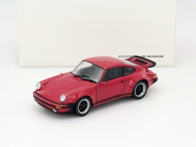 Porsche 911 (930) Turbo Year 1975 red 1:24 Welly