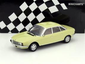 NSU Ro 80 Baujahr 1972 gelb 1:18 Minichamps