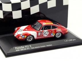 Porsche 911 S #82 Class Winner ADAC 1000 km 1971 1:43 Minichamps
