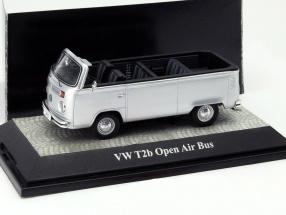 Volkswagen VW T2b Open Air Bus silber 1:43 PremiumClassiXXs