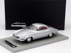 Alfa Romeo Giulia SS 1600 Year 1963 silverware / red Interior 1:18 Tecnomodel