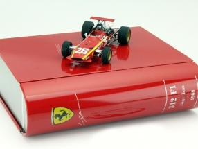 J. Ickx Ferrari 312 F1 #26 Winner GP France Formula 1 1968 1:43 Ixo