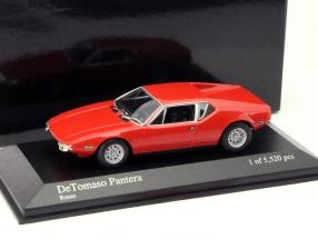 DeTomaso Pantera Year 1972 red 1:43 Minichamps