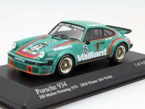 Porsche 934 #6 Winner 200 Meilen Norisring DRM 1976 1:43 Minichamps