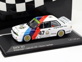 BMW M3 (E30) #47 Winner ETC Zolder 1987 Vogt, Heger 1:43 Minichamps