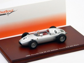 Porsche 718 Formel 2 #6 G. Hill 4th Solitude Grand Prix 1960 1:43 True Scale