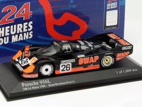 Porsche 956L #26 2nd 24h LeMans 1984 Rondeau, Paul jr. 1:43 Minichamps