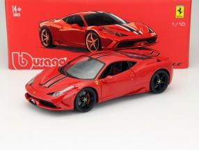 Ferrari 458 Speciale red 1:18 Bburago Signature