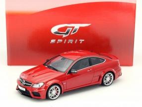 Mercedes-Benz C63 AMG Black Series mars red 1:18 GT-Spirit