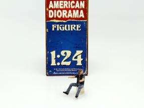 Biker Figure Ace 1:24 American Diorama