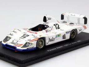 Porsche 936/81 #12 24h LeMans 1981 Mass / Schuppan / Haywood 1:43 Spark