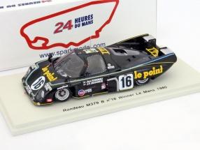 Rondeau M379 B #16 Winner 24h LeMans 1980 Rondeau, Jaussaud 1:43 Spark