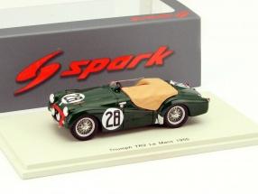 Triumph TR2 #28 24h LeMans 1955 Standard Triumph Motor Company Ltd. 1:43 Spark