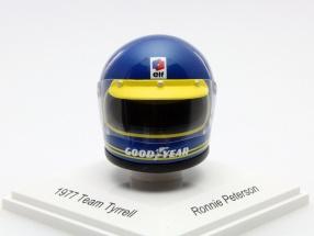Ronnie Peterson Elf Team Tyrrell Formula 1 1977 Helmet 1:8 TrueScale