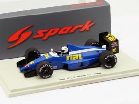 Christian Danner Rial ARC2 #38 Brasilien GP Formel 1 1989 1:43 Spark