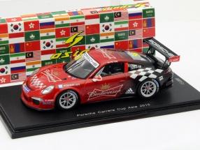 Porsche Carrera #58 Porsche Carrera Cup Asia 2015 Tung 1:43 Spark