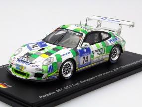 Porsche 997 GT3 Cup #74 24h Nürburging 2015 Getspeed Performance 1:43 Spark