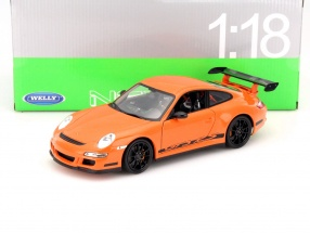 Porsche 911 (997) GT3 RS orange 1:18 Welly