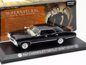 Chevrolet Impala Sport Sedan TV-Serie Supernatural 2005 schwarz 1:43 Greenlight