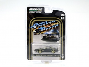 Pontiac Trans Am Movie Smokey and the Bandit I 1977 black / gold 1:64 Greenlight