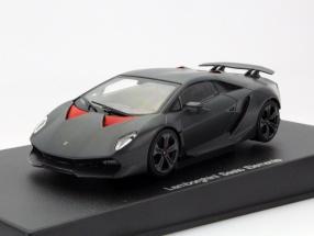 Lamborghini Sesto Elemento Baujahr 2010 carbon / grau 1:43 AUTOart
