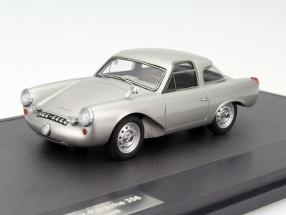 Glöckler Porsche 356 Special Coupe Baujahr 1954 silber 1:43 Matrix