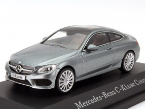 Mercedes-Benz C-Class (C205) Coupe selenite Grey 1:43 Kyosho