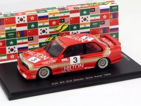 BMW (E30) #3 2nd Macau Guia Race 1988 Oestreich 1:43 Spark