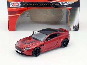 Aston Martin V12 Vantage S red 1:24 MotorMax