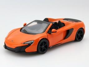 McLaren 650S Spider orange 1:24 MotorMax
