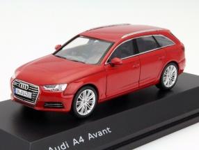 Audi A4 Avant tango rot 1:43 Spark