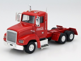 Christmas Truck Coca-Cola With LED lights red 1:43 Motorcity