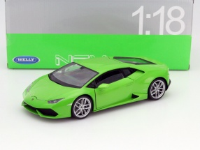 Lamborghini Huracan LP 610-4 Baujahr 2015 grün 1:18 Welly