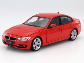 BMW 335i red 1:24 Welly