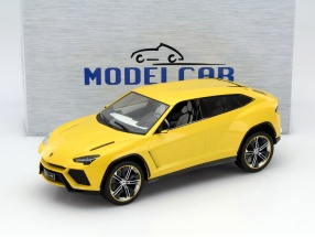 Lamborghini Urus yellow metallic 1:18 Model Car Group