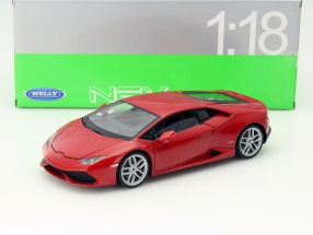 Lamborghini Huracan LP 610-4 Year 2015 red 1:18 Welly