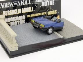 Renault 11 Car Taxi James Bond movie The Living Daylights 1:43 Ixo